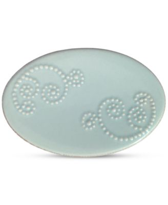 French Perle Groove Soap Dish