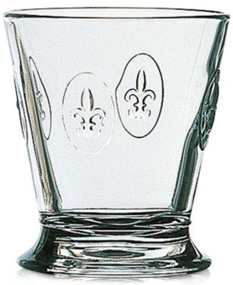 La Rochere Fleur De Lys 9-ounce Tumbler, Set of 6.