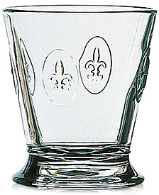 La Rochere Fleur De Lys 9-ounce Tumbler, Set of 6.