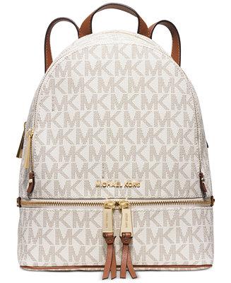 Michael Michael Kors Rhea Zip Medium Backpack Handbags