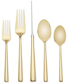 kate spade new york 5-Pc. Malmo Gold Place Setting.