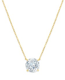 Eliot Danori 18k Gold-Plated Crystal Pendant Necklace, Created for Macy's