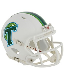 Tulane Green Wave Speed Mini Helmet