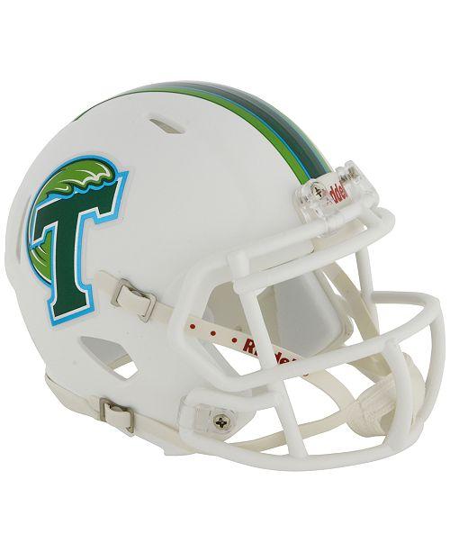 Riddell Tulane Green Wave Speed Mini Helmet