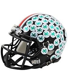 Ohio State Buckeyes Speed Mini Helmet Dark Night