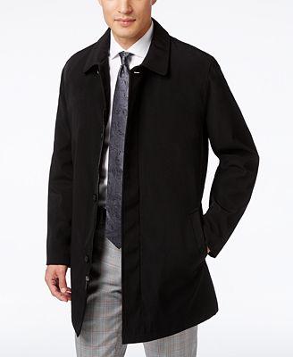Kenneth Cole New York Revere Raincoat - Coats & Jackets - Men - Macy's