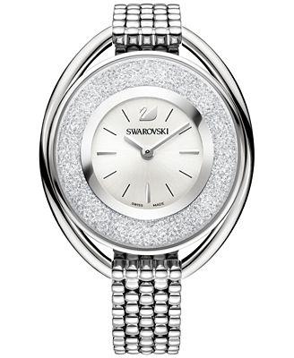 Swarovski Swiss Stainless Steel Bracelet Watch 19mm