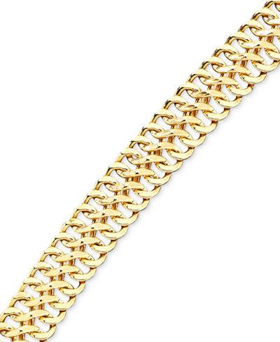 Mesh Bracelet in 18k Gold