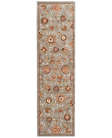 "Wool and Silk 2000 2360 2'6"" x 12' Runner Rug"