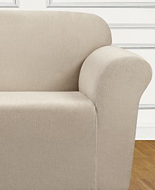 Sure Fit Ultimate Stretch Chenille One-Piece Loveseat Slipcover
