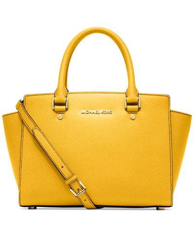 http://www1.macys.com/shop/product/michael-michael-kors-selma-medium-satchel?ID=1183772&CategoryID=26846&selectedSize=&swatchColor=Sunflower#fn=sp%3D1%26spc%3D1757%26ruleId%3D60|BS%26slotId%3D1%26kws%3Dmichael%20kors%26searchType%3Dac%26ackws%3Dmich