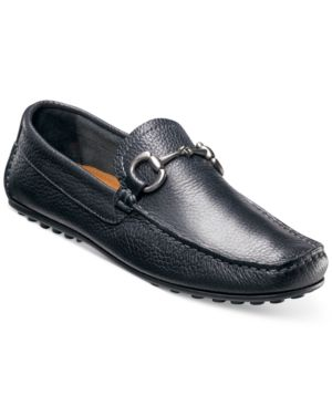 FLORSHEIM Men'S Danforth Driver Men'S Shoes in Black Milled