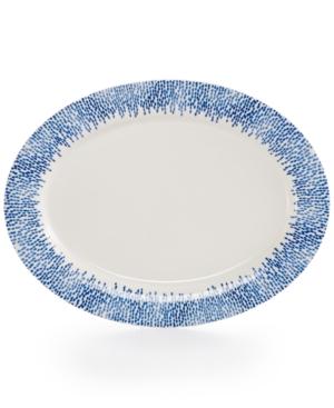 Martha Stewart Collection Porcelain Stockholm Oval Platter Created for Macys