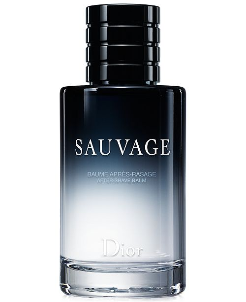 5a238b6c Men's Sauvage Aftershave Balm, 3.4 oz
