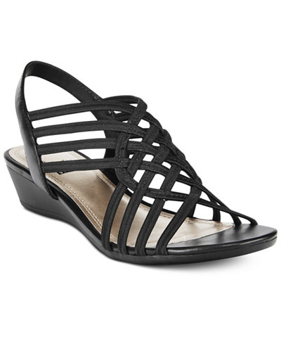 0cca217c844 Impo Refresh Stretch Wedge Sandals