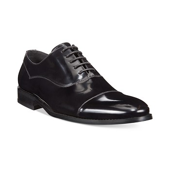 Kenneth Cole Unlisted Half-Time Oxford Formal Men's Shoes (Black)