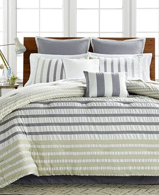 Keita Seersucker 8 Pc Comforter Sets Bed In A Bag Bed