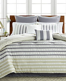CLOSEOUT! Keita Seersucker 8-Pc Comforter Sets