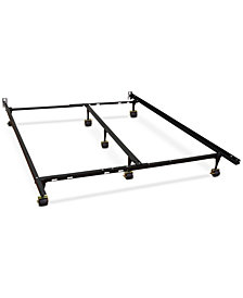 Sleep Trends Hercules Universal Adjustable Metal Bed Frame, Assembly Required, Quick Ship, Created for Macy's
