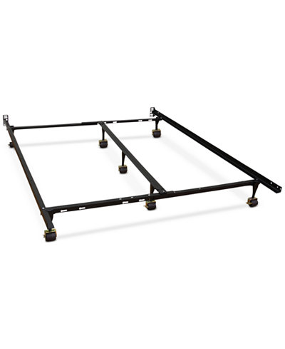 sleep trends hercules universal adjustable metal bed frame quick ship only at macys