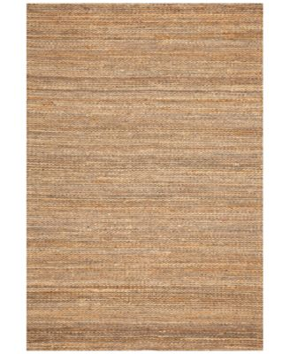 "Natural Jute Pewter 3'6"" x 5'6"" Area Rug"