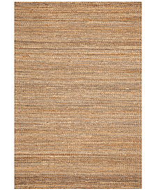 "D Style Natural Jute Pewter 5' x 7'6"" Area Rug"