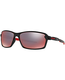 Oakley Polarized Sunglasses, OO9302 Carbon Shift