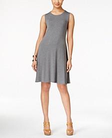 Petite Sleeveless Swing Dress, Created for Macy