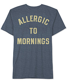 Allergic To Mornings Men's T-Shirt by Jem