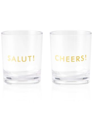 kate spade new york raise a glass collection 2pc hereu0027s to you salut