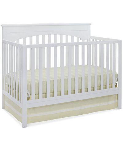 Arran 4 in 1 Convertible Crib, Quick Ship
