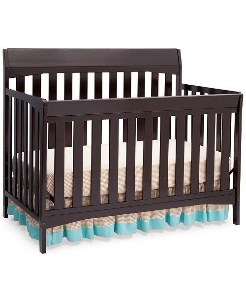 Furniture Kyndal 4 in 1 Convertible Crib, Quick Ship