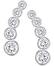 Swarovski Multi Crystal Ear Climber Earrings