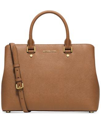 michael kors savannah large satchel handbags accessories macy s rh macys com