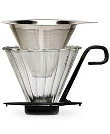 Seneca 2-Pc. 1-Cup Pour Over Coffee Maker Set
