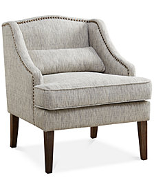 Betty Swoop Arm Accent Chair, Quick Ship