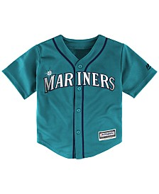 Majestic Toddlers' Seattle Mariners Replica Cool Base Jersey