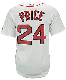 Majestic Men's David Price Boston Red Sox Replica Jersey