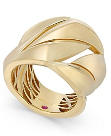18k Gold-Plated Sterling Silver Statement Ring 7771140SY650