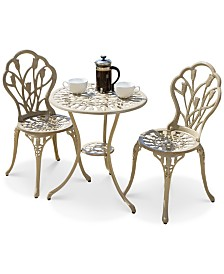 Heron Bay 3-Pc. Bistro Set, Quick Ship
