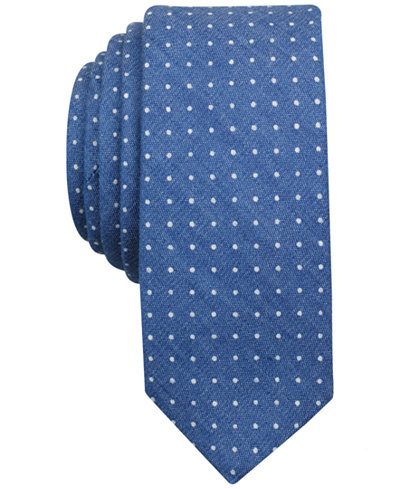 Original Penguin Men's Ponte Dot Skinny Tie