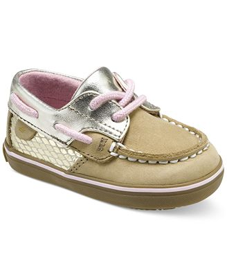Sperry Baby Girls Bluefish Crib Boat Shoes Shoes Kids