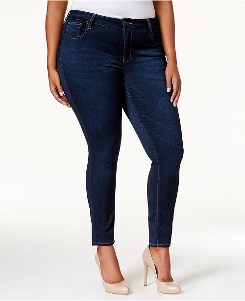 084758cdafe ... Celebrity Pink Trendy Plus   Petite Plus Size Super-Soft Walker Skinny  Jeans ...
