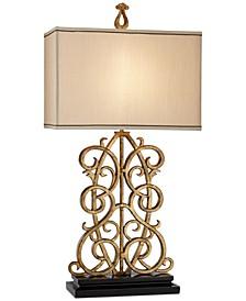 Metal Jardin Gate Table Lamp