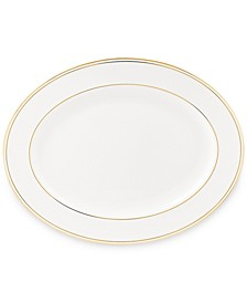 "Federal Gold Collection 16"" Oval Platter"