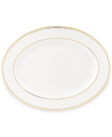 """Federal Gold Collection 16"""" Oval Platter"""