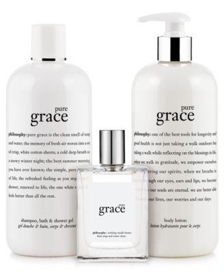philosophy pure grace collection - Makeup - Beauty - Macy's