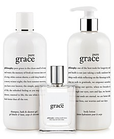 pure grace eau de toilette fragrance collection