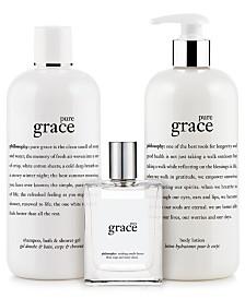 philosophy pure grace eau de toilette fragrance collection