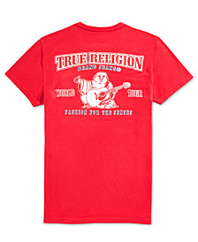 True Religion Men's  Double Puff Graphic T-Shirt